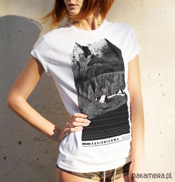 Koszulka damska DOLINA GĄSIENICOWA
