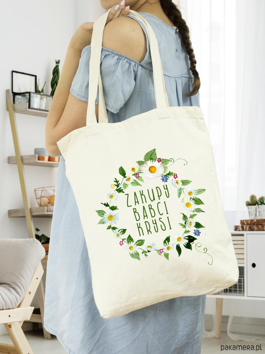 4c7ad742dcae6b Torebki - torby na zakupy - damskie-Torba materiałowa - Dzień Babci (imię)  ...
