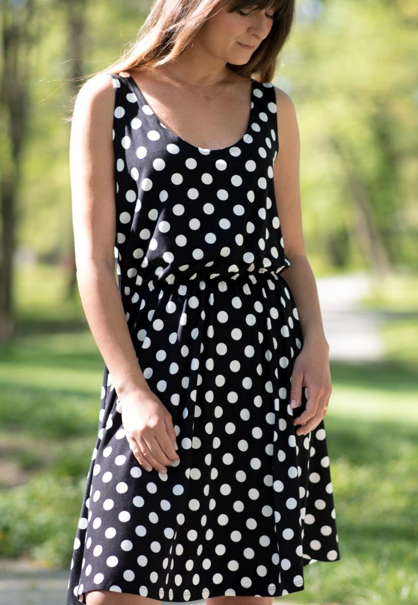 Sukienka Monroe w grochy