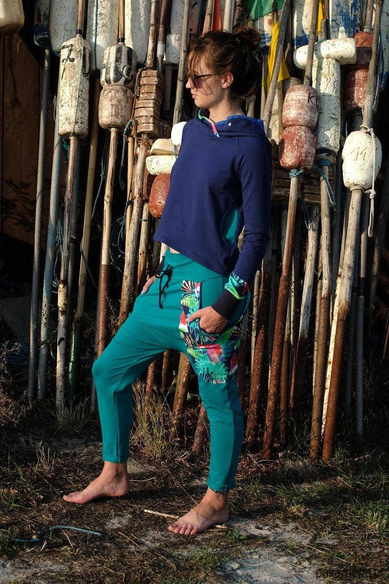 Spodnie damskie Papugi - baggy pants - joggery