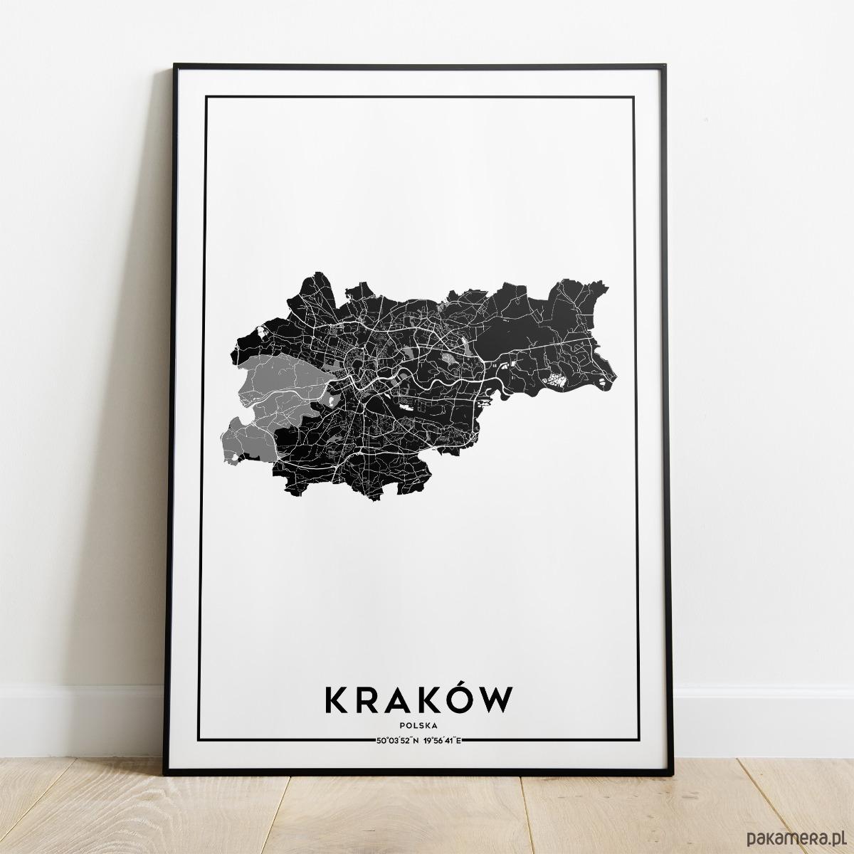 Plakat Miasto Kraków Pakamerapl