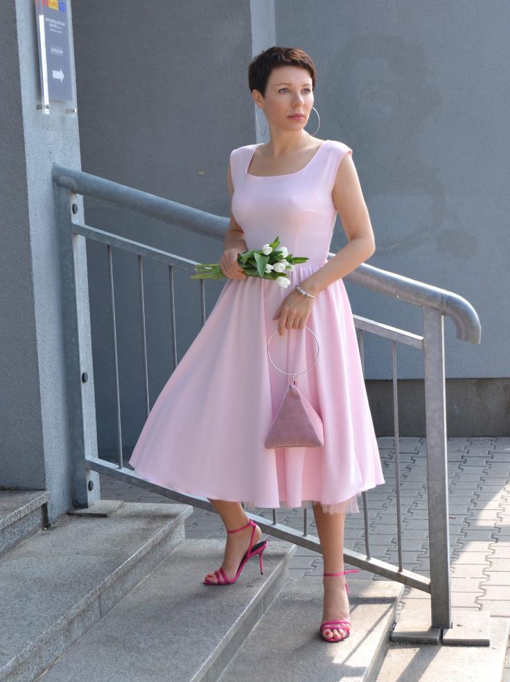 Sukienka RETRO PUDER by momo