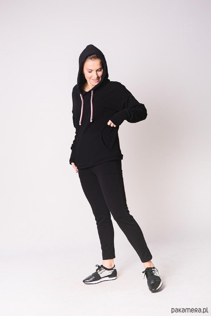 Spodnie klasyczne czarne