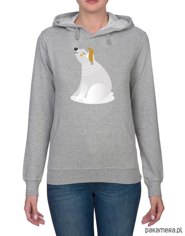 Bluza damska z misiem polarnym