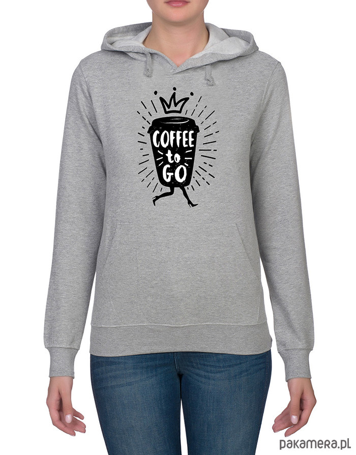Bluza damska. Coffee to go!