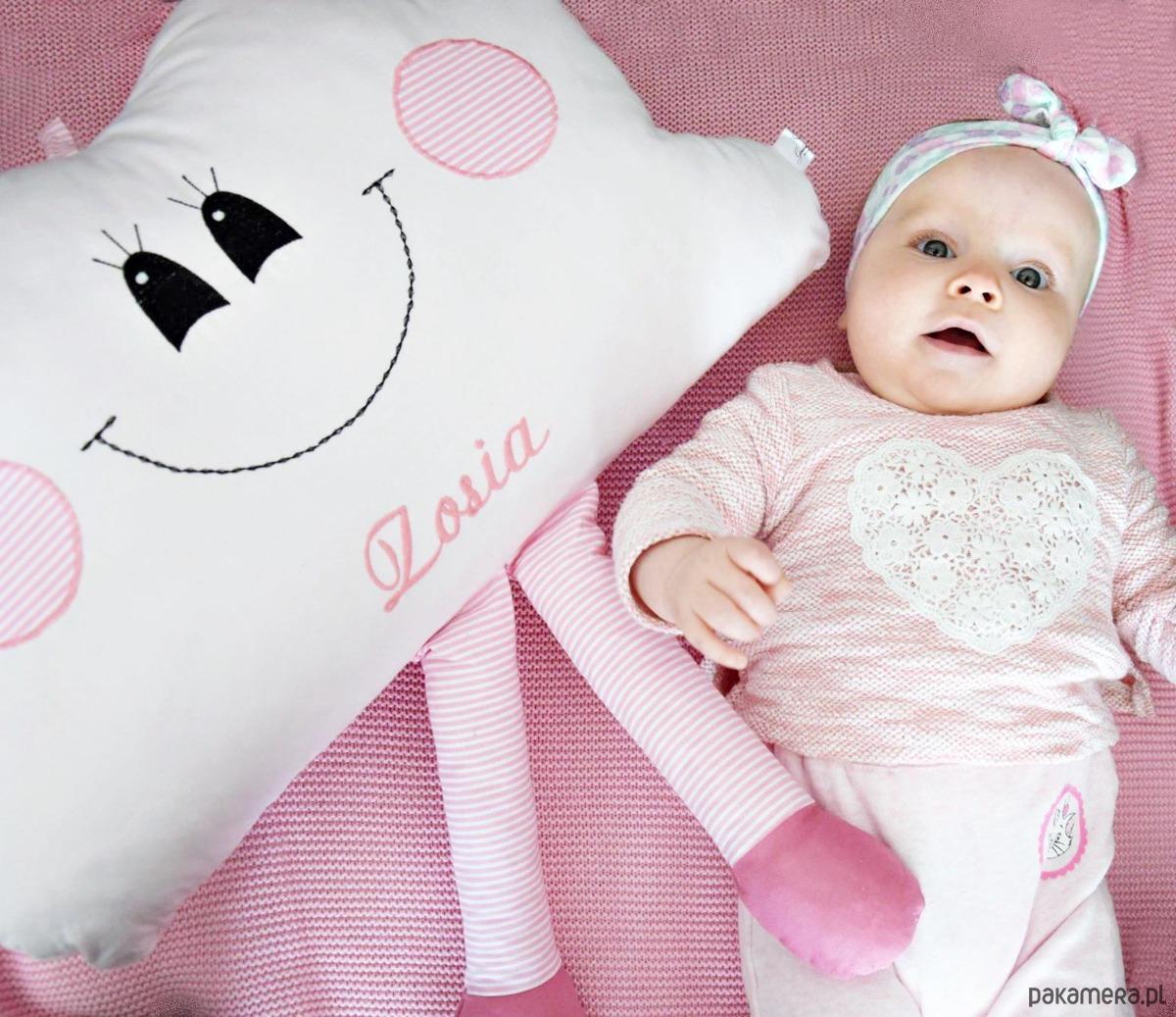 Poduszka Chmurka Z Imieniem Dziecka Pakamerapl
