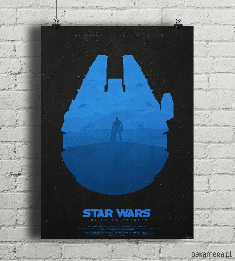 Star Wars Light Plaakt 50x70 Cm Pakamerapl