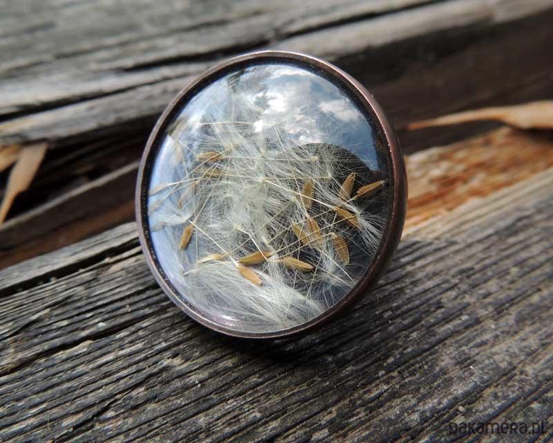 Oddech lata miedziany pierścionek - pierścionki - różne H2CwMeVN