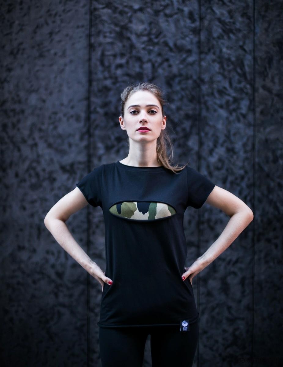 T-shirt #torn camo