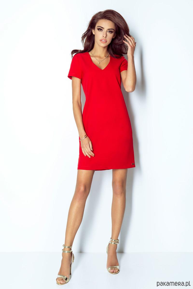 Sukienka Matilda czerwony