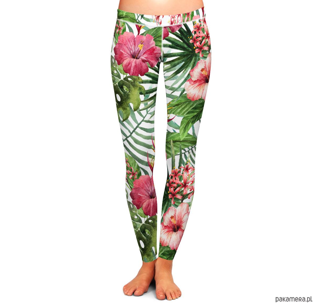 Legginsy Exotic Flowers