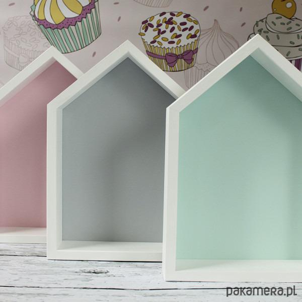 Domek Półka Malowany Pakamerapl