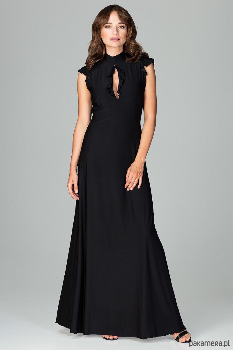 Sukienka K486 Czarny