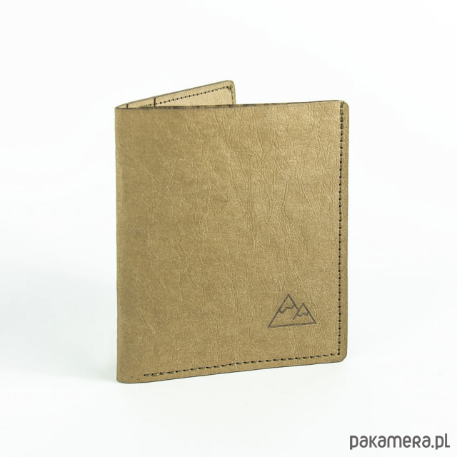 aac5d1cfcb3f9 Super cienki portfel z papieru WASHPAPA - beżowy - portfele - unisex -  Pakamera.pl
