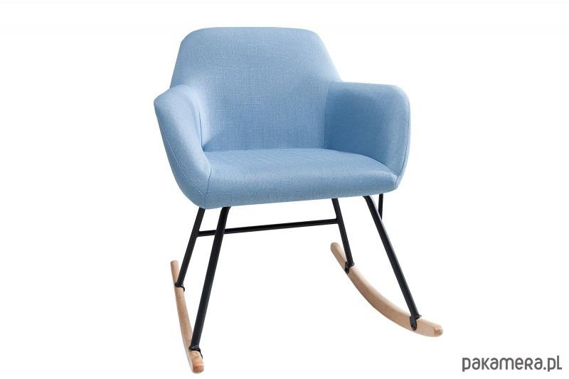 Fotel bujany Igloo jasnoniebieski buk 79cm - 2037480