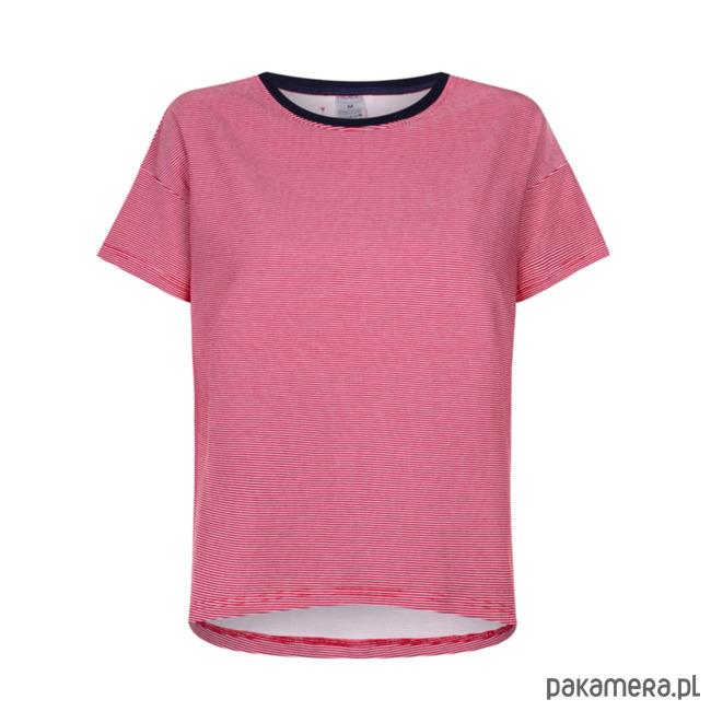 T-shirt basic RED STRIPES