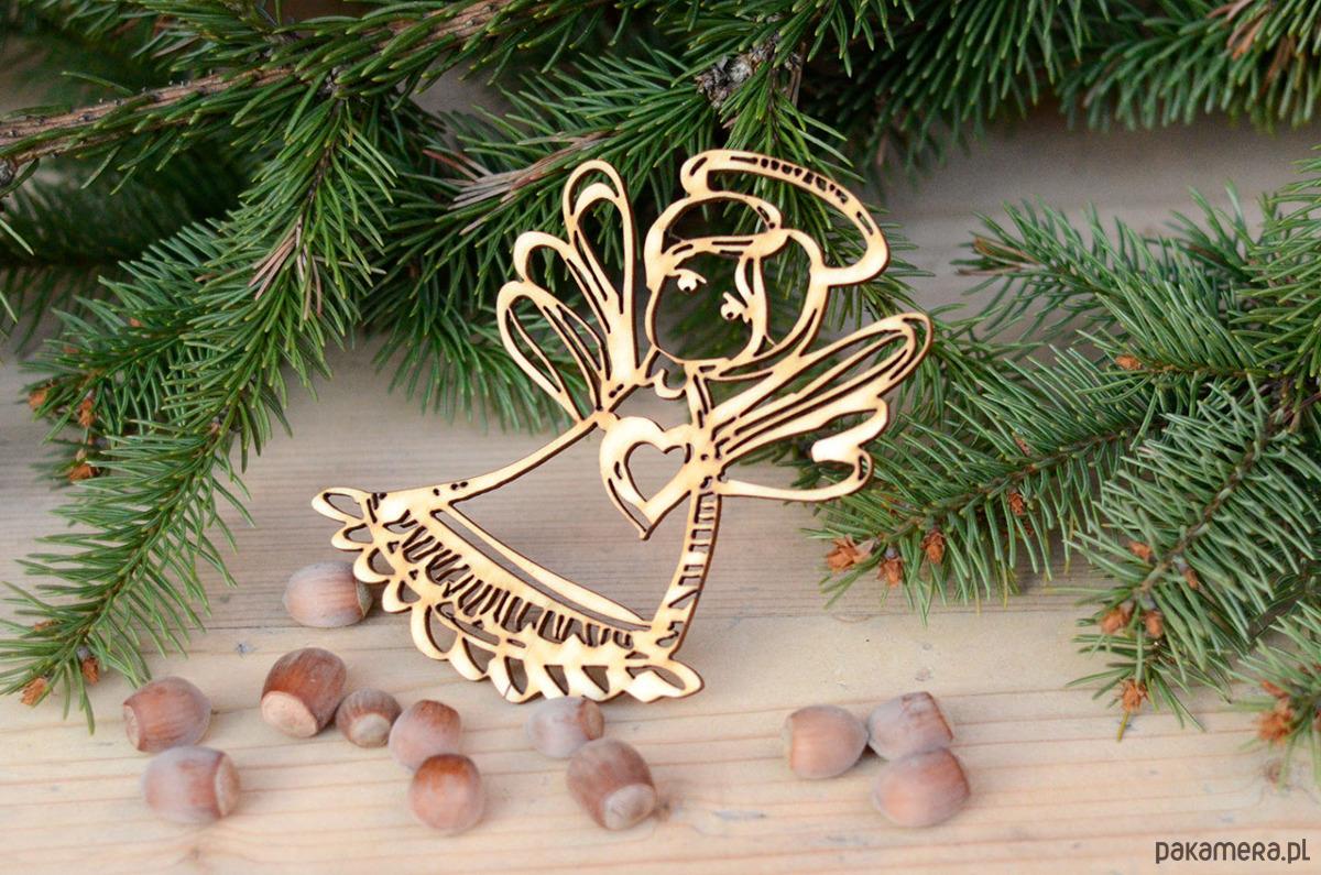 Anioł Ażurowy 1 świąteczne Dekoracje I Ozdoby Pakamerapl