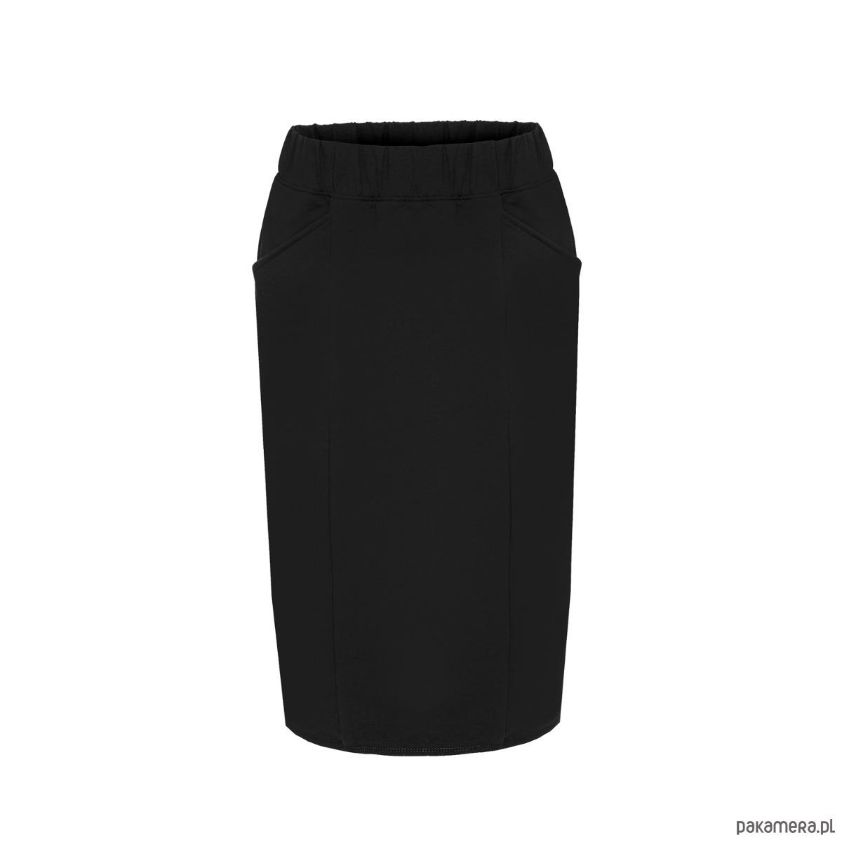 Ołówkowa spódnica czarna