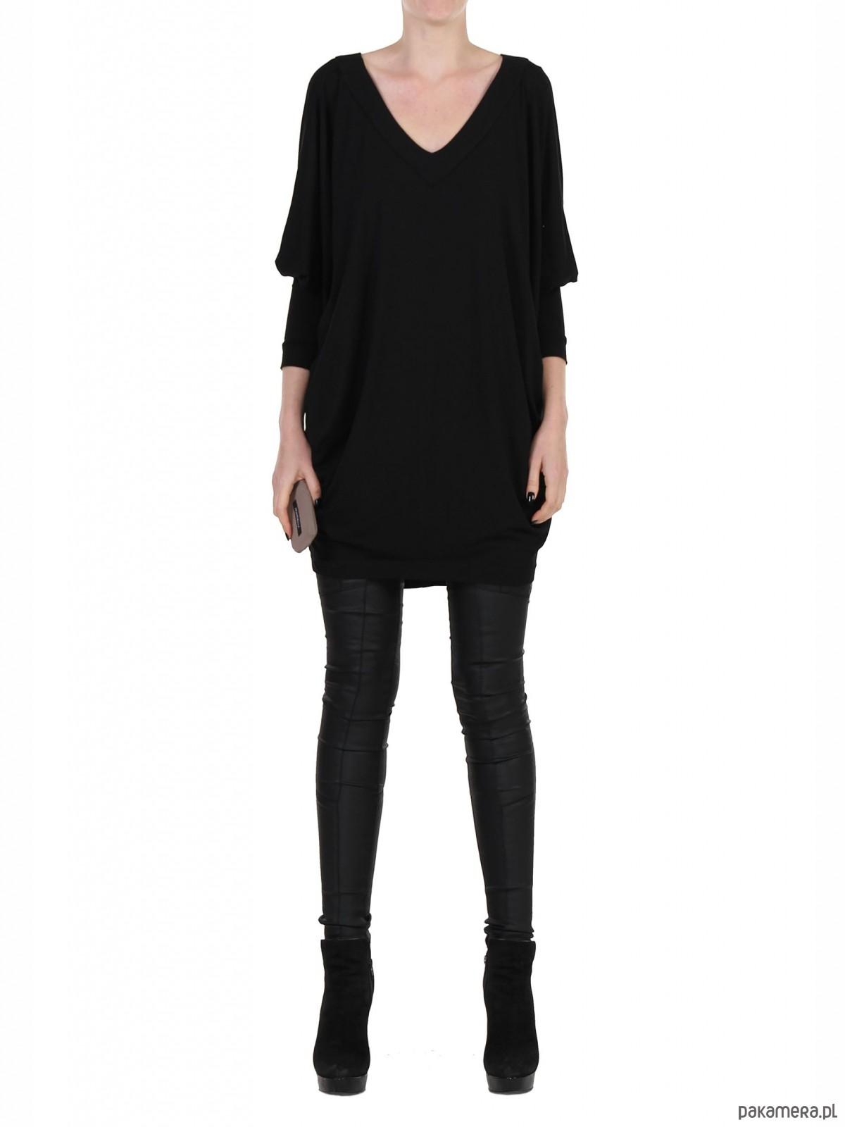 Sukienka czarna YY100028_RAL9005