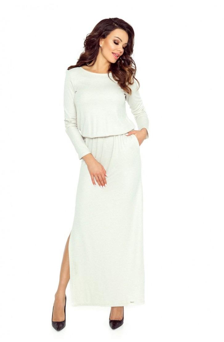 Elegancka sukienka przysłaniająca niedoskonał