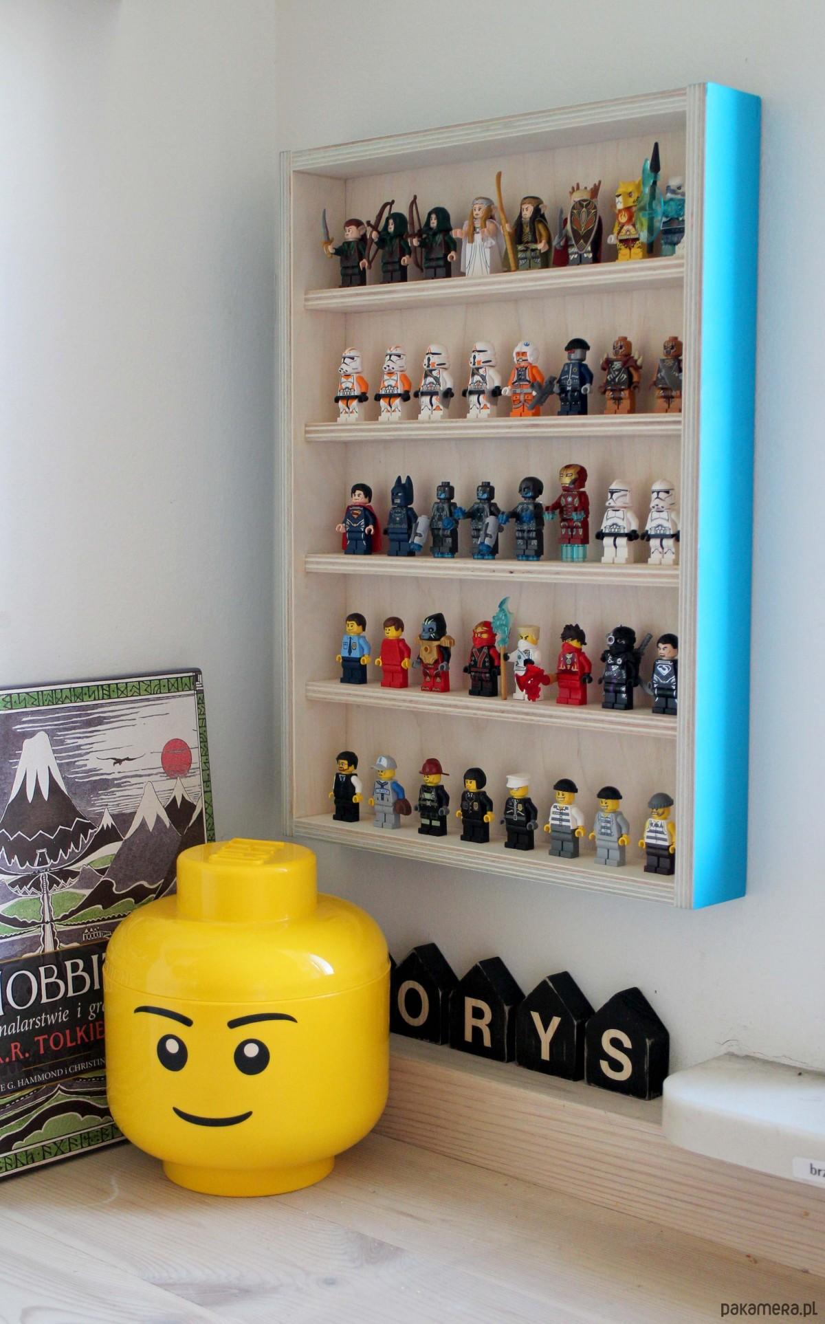 Półka Na Ludziki Lego Pakamerapl