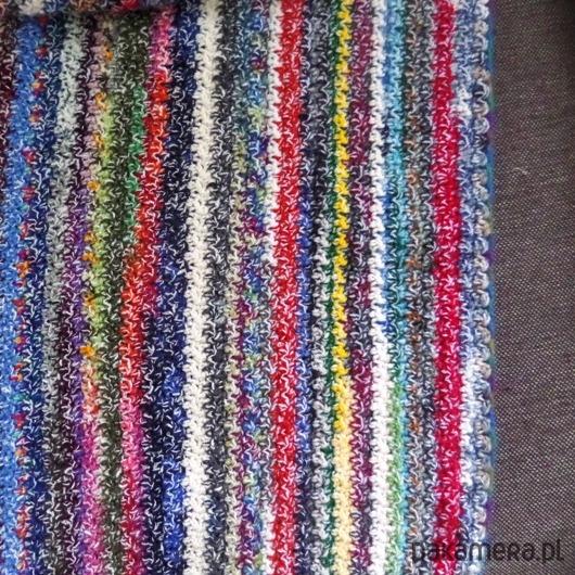 Narzuta Zmrożone Paski Tekstylia Koce Pościel Pledy Narzuty