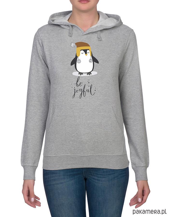 Bluza damska z pingwinem