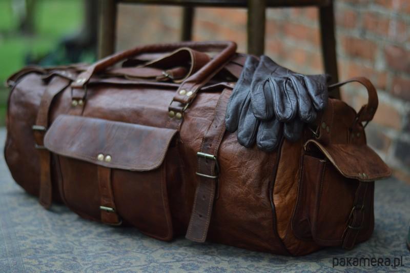 Skórzana torba podróżna ZADRA BAG