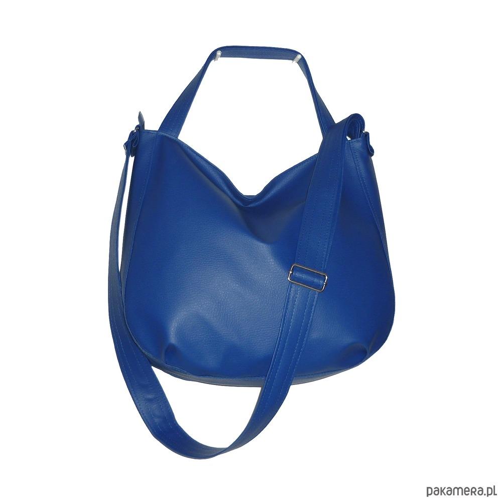 bf60ba97a587c torby na ramię - damskie-Granatowa torba 3w1