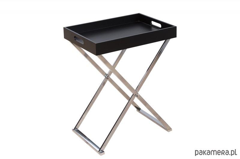 Stolik Kawowy Piano Czarny Chrom 62cm Pakamerapl