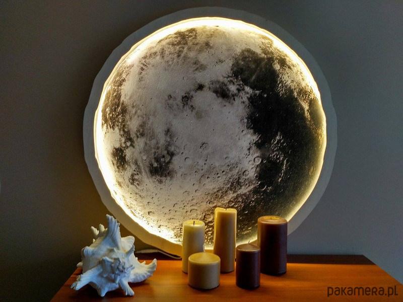 Lampa ścienna Unky Księżyc 70 Cm Pakamerapl