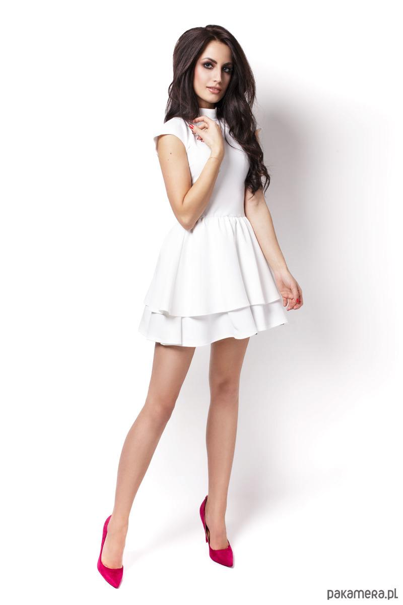Sukienka Sandra ecru