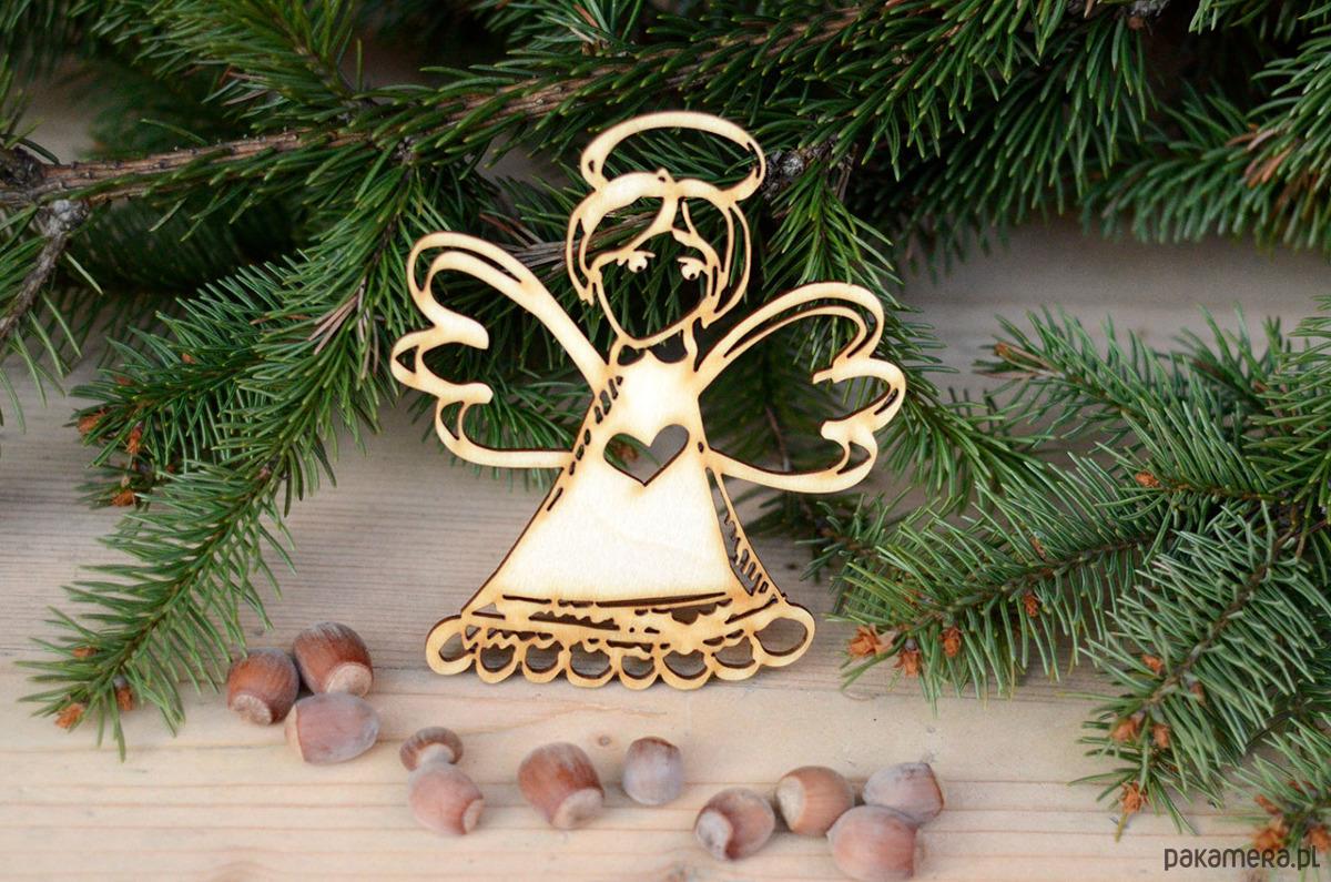 Anioł Ażurowy 3 świąteczne Dekoracje I Ozdoby Pakamerapl