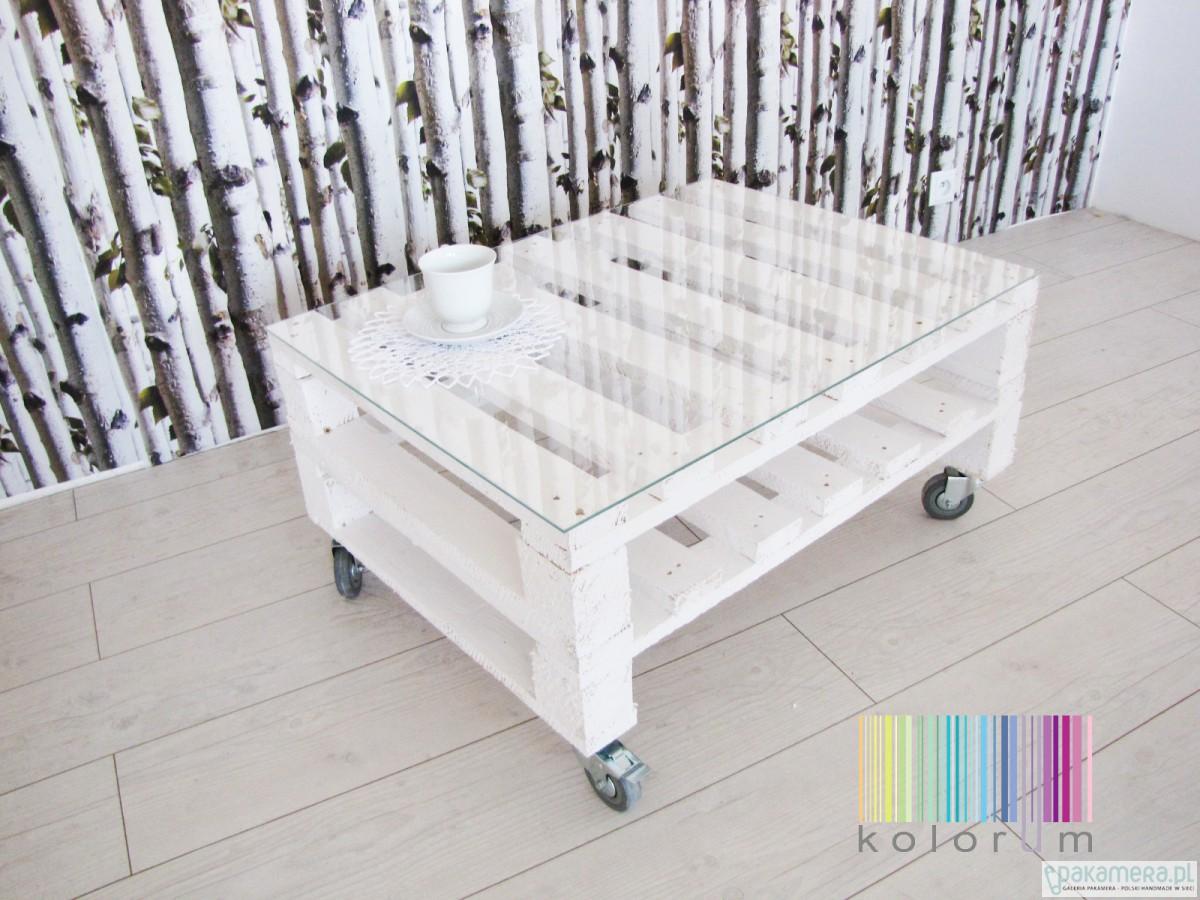 Design Stolik Kawowy Z Paletdrewno Naturalne Pakamerapl