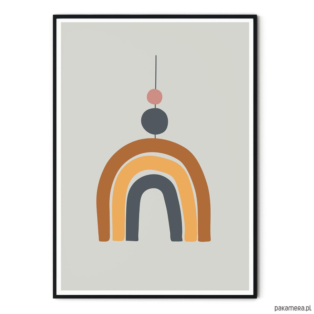 Plakat dla dzieci montessori Tęcza - dziecko - plakaty obrazki zUcIcOHQ