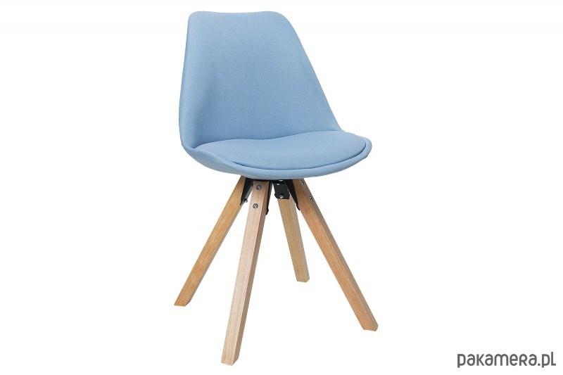 Zestaw Krzeseł Do Jadalni Igloo Błękitne 4szt Meble Krzesła