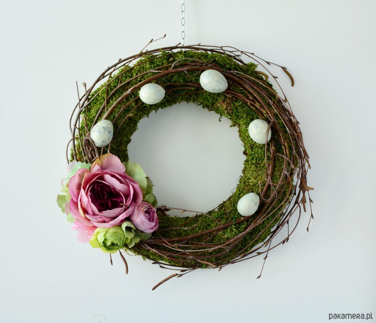 Wianek Wielkanocny Z Mchu Wielkanoc Wianki Pakamerapl