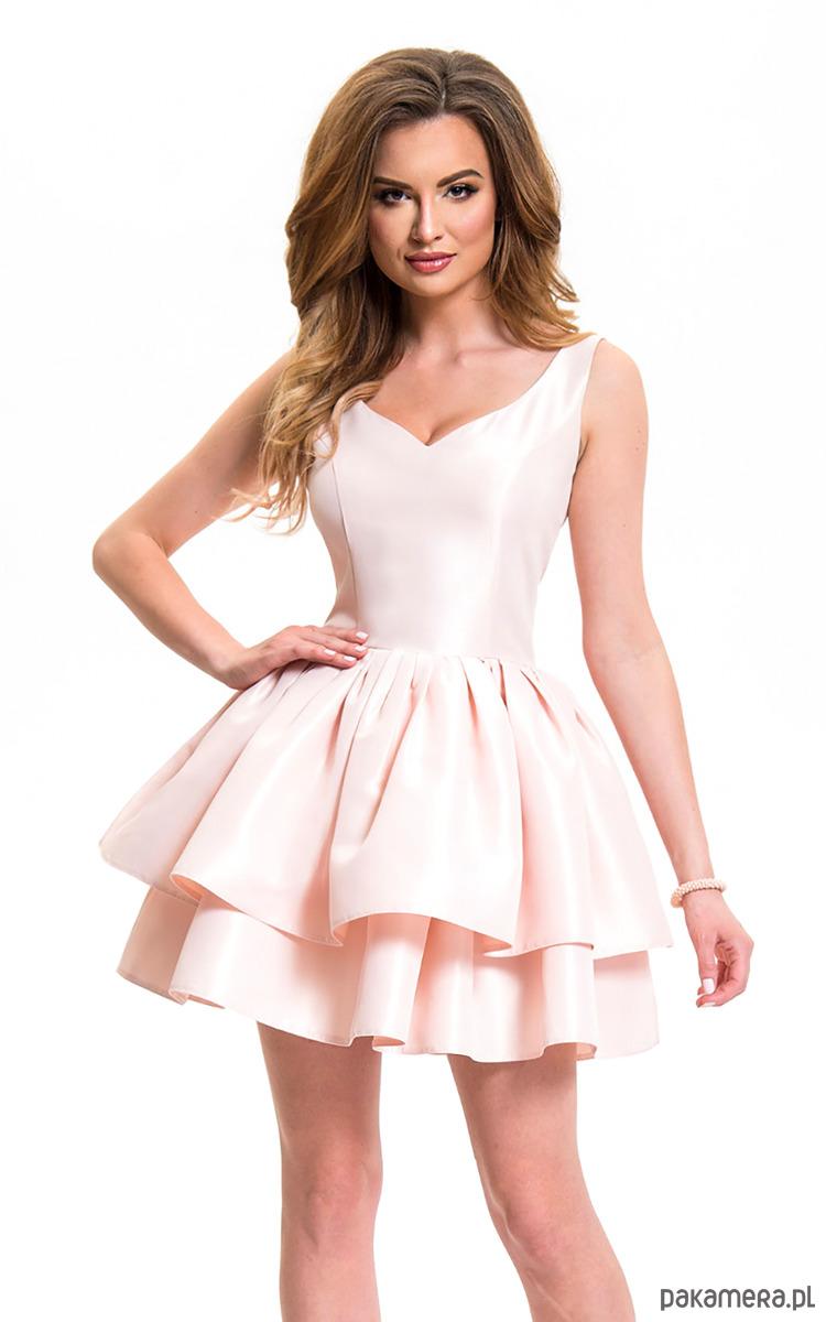 Sukienka balerina różowa