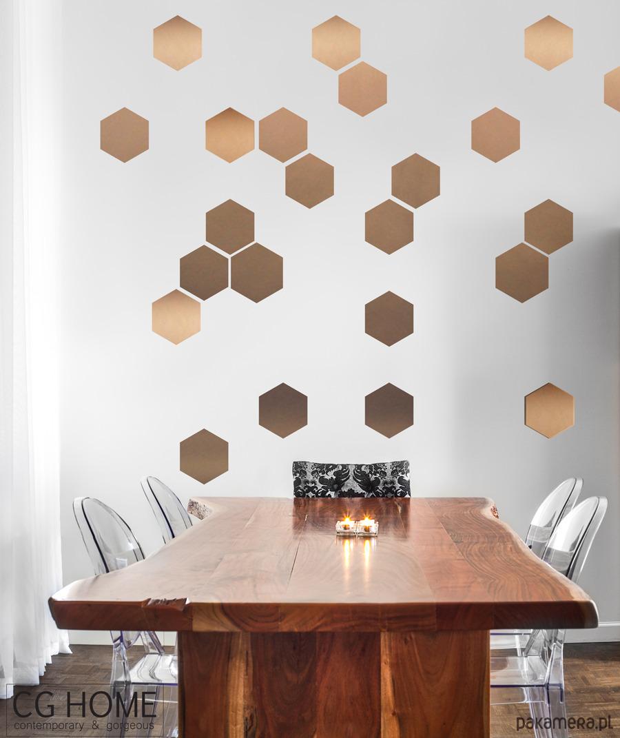 Miedziane SzeŚciokĄty Wz 243 R Hexagon Sześciokąt Tapety