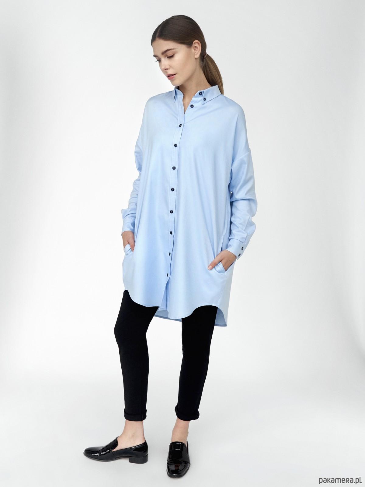 Koszula oversize bluzki koszule Pakamera.pl  0mha6