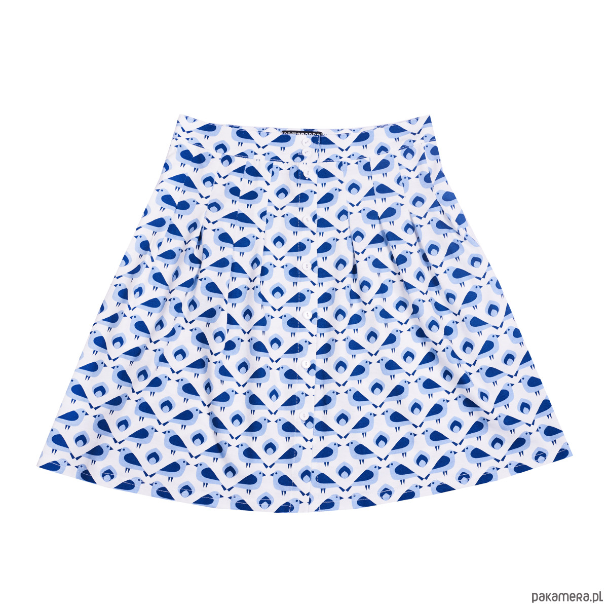 Spódnica z kieszeniami Wróbel