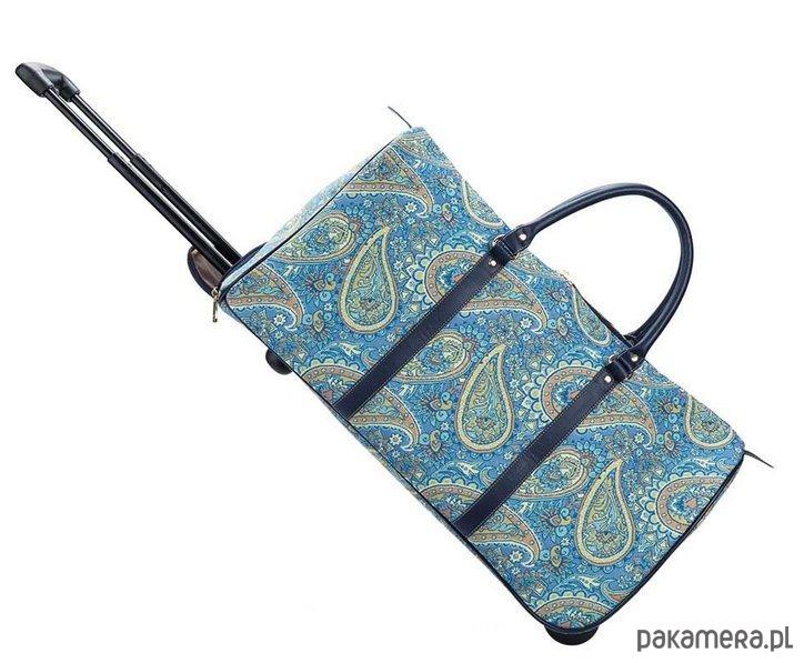 1e864743735ec Torba podróżna na kółkach -Ton Sac  Paisley  - torby podróżne ...