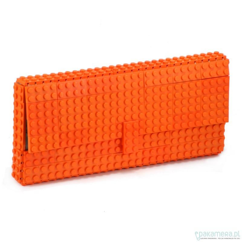 fcf0b804c32cc Pomarańczowa kopertówka z klocków LEGO® - kopertówki - Pakamera.pl
