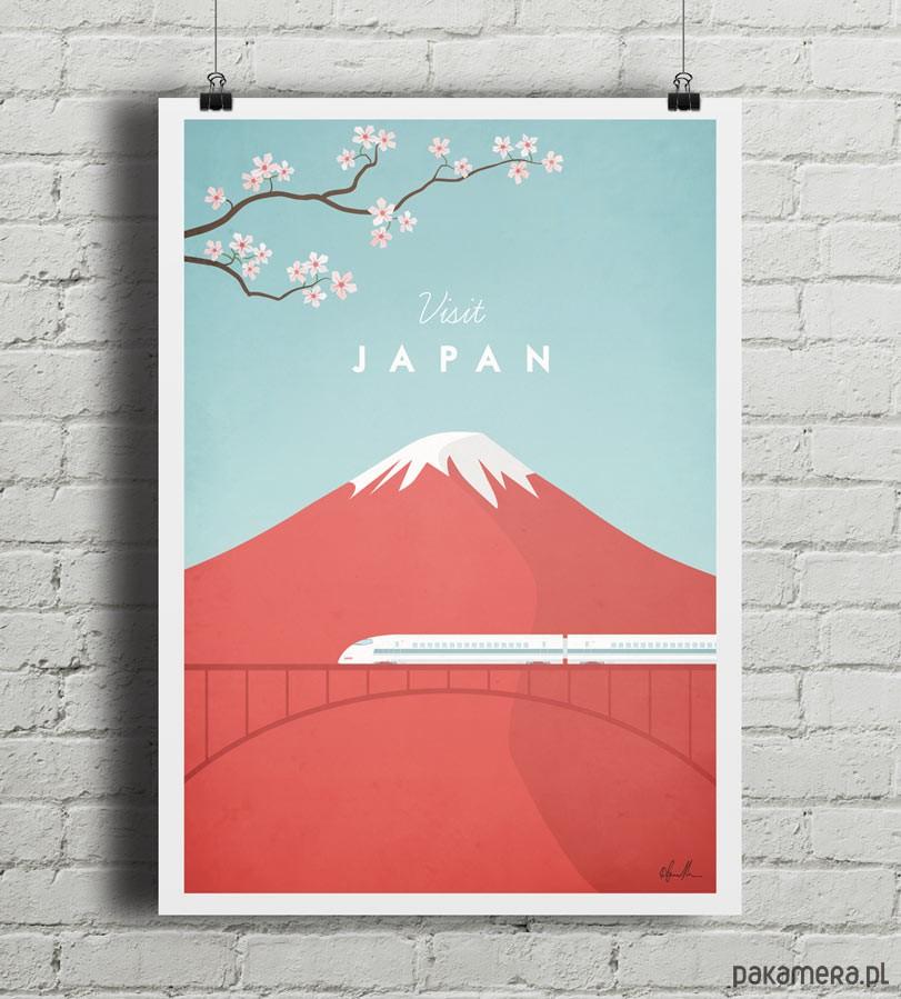 plakaty japonia vintage plakat a2