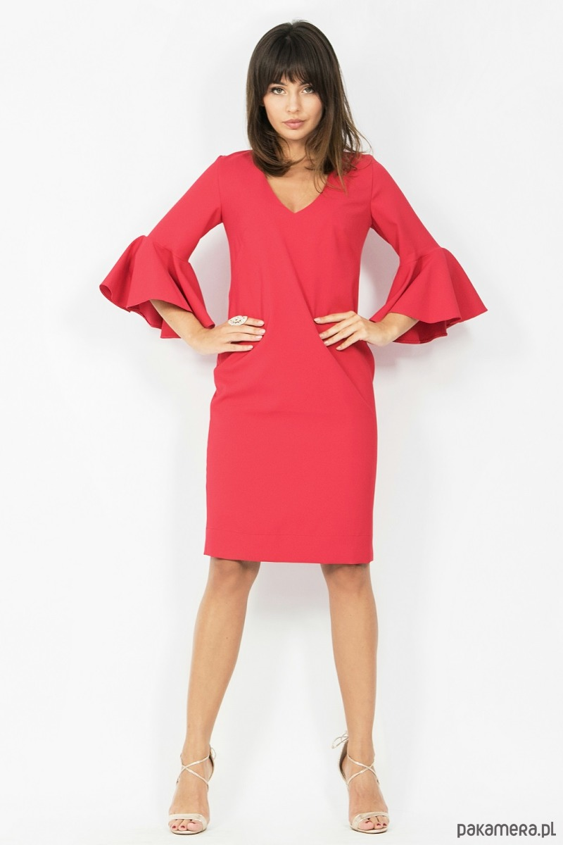 Sukienka Laura czerwona