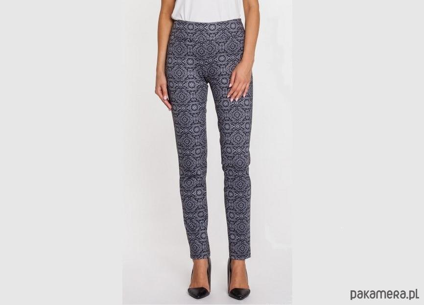 Eleganckie spodnie we wzór