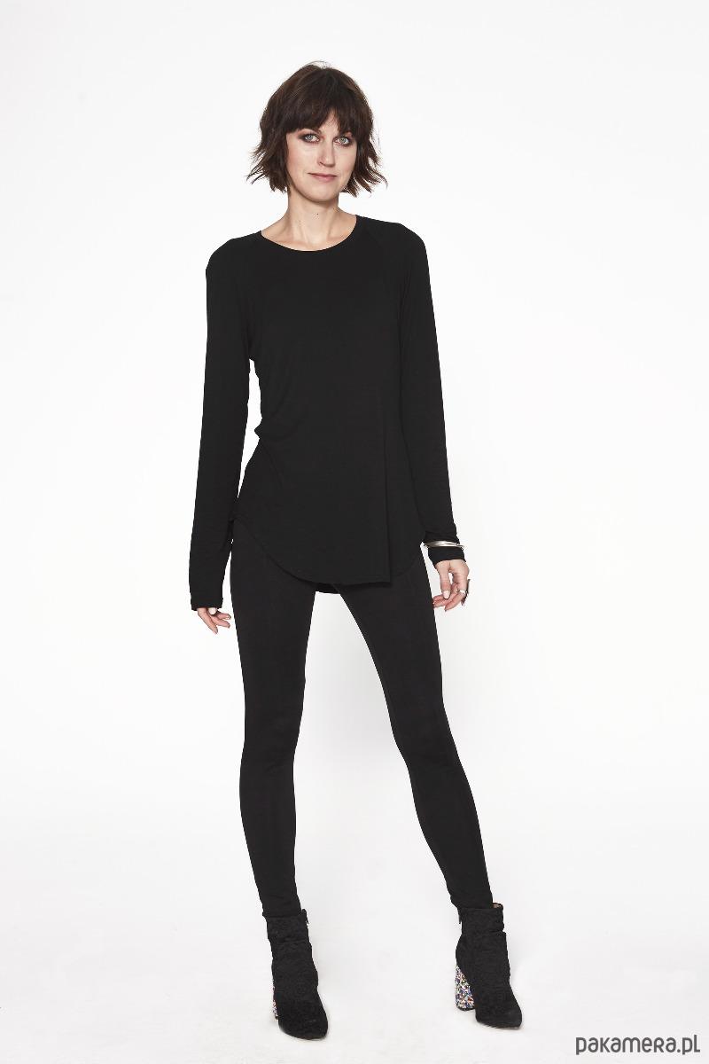bluzka SAWA z długim rękawem black