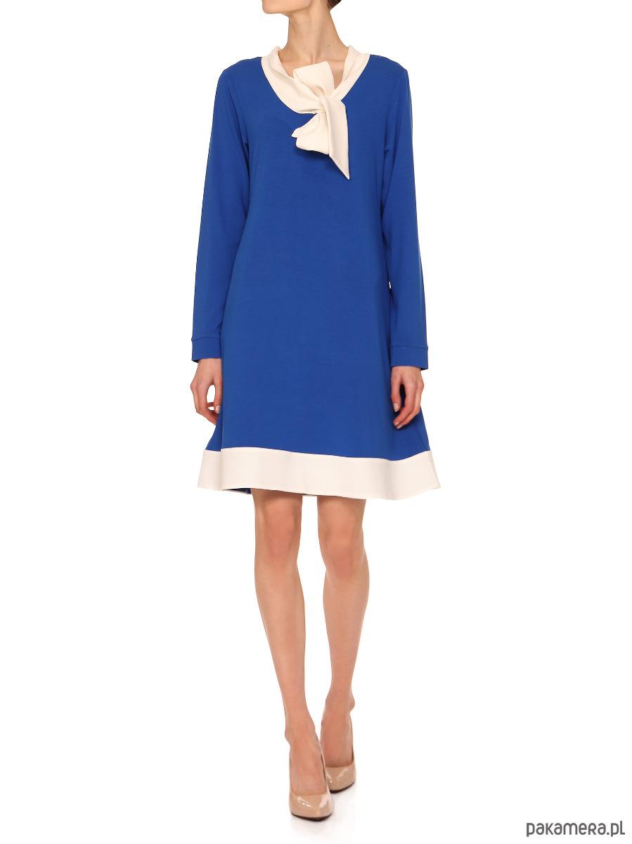 Sukienka niebieska YY200009_RAL5005-9016