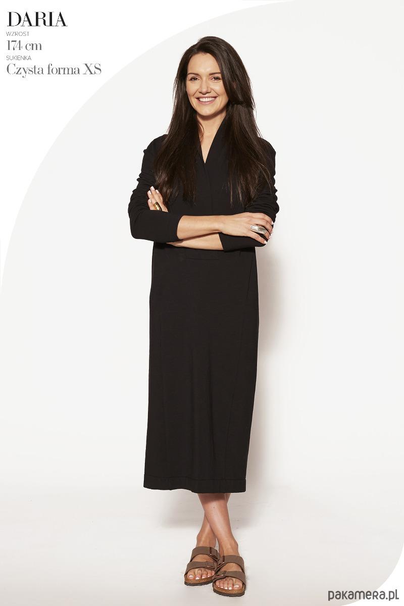 Sukienko-sweter TILDA czarna