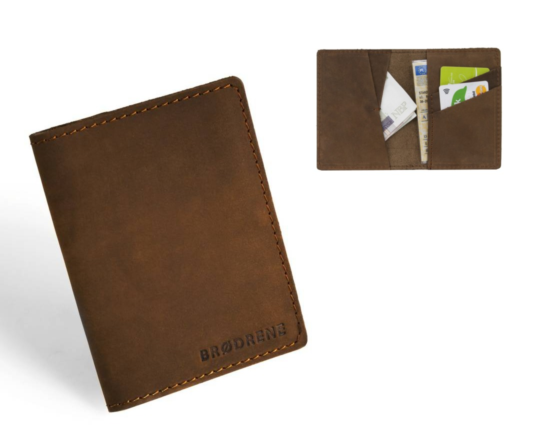 cefd04983cc14 akcesoria - portfele-Super cienki portfel Brodrene SW07 Slim wallet